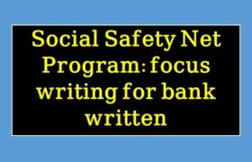 Social Safety Net Program