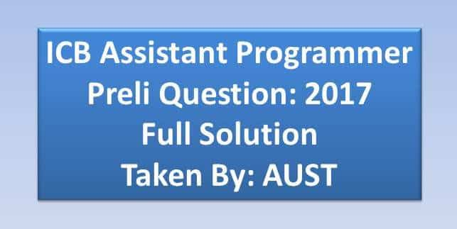 icb assistant programmer question,assistant programmer mcq question,assistant programmer job circular 2017,assistant programmer job circular 2018,assistant programmer question paper with answers,assistant programmer question paper in bangladesh,assistant programmer question paper with answers 2012,cash assistant,palli sanchay bank cash assistant