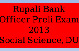 Rupali Bank Officer Preli Exam 2013, Rupali Bank Officer Preli Exam 2013 pdf, Rupali Bank Officer Preli Exam 2013 Solution