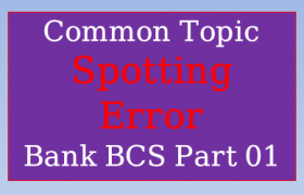 Spotting Error Bank BCS Preli Part 01, spotting error,spotting errors,common error,error detection,error correction rules,spotting errors in english tricks for bank po,error,error spotting in english for bank exams ssc,spotting error in bangla,spotting error part 4,error correction,spotting error in bengali,spotting error for ssc,spotting error for ibps,spotting error for sbi clerk,spotting error in english tricks